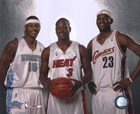 Carmelo Anthony / Dwyane Wade / LeBron James - 2005 NBA  All Star Game art print