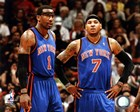 Carmelo Anthony & Amar'e Stoudemire 2010-11 Action art print